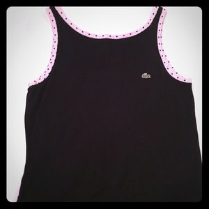 Lacoste Polka Dot V Back Dress
